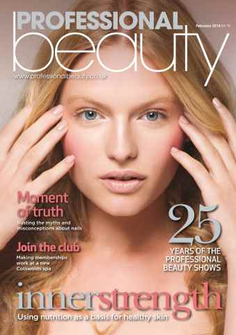 Professional Beauty issue Professional Beauty February 2014
