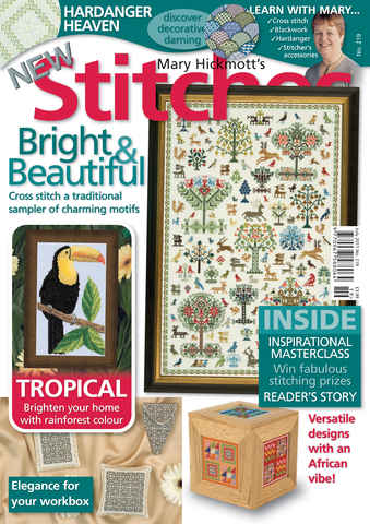 New Stitches issue Issue 219