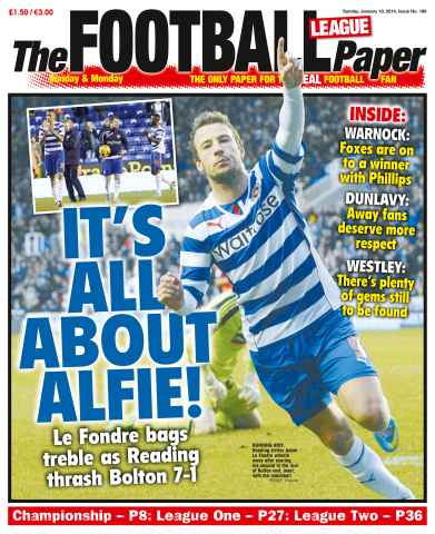 The Football League Paper issue 19th January 2014