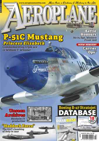 Aeroplane issue No.491 P-51c Mustang