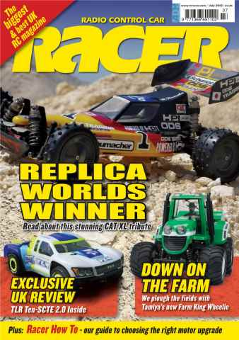 Radio Control Car Racer issue RC Racer Sample Issue