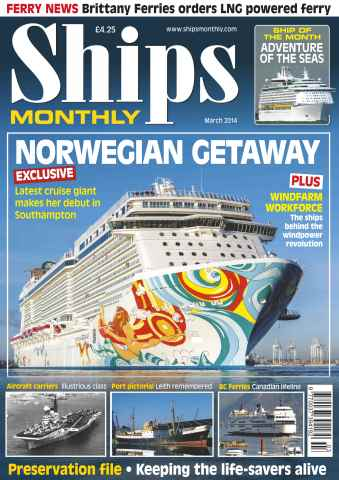 Ships Monthly issue No.591 Norwegian Getaway