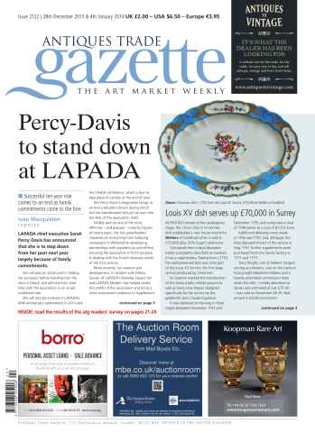 Antiques Trade Gazette issue ATG Issue 2122