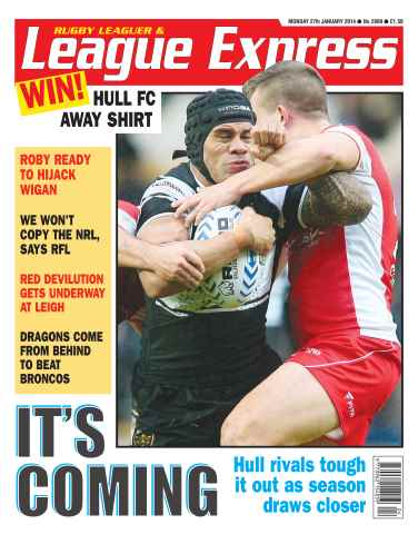 League Express issue 2899