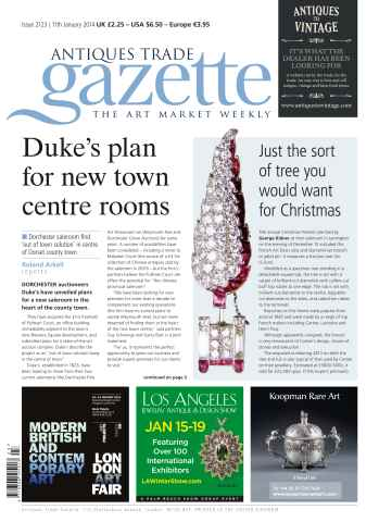 Antiques Trade Gazette issue ATG Issue 2123