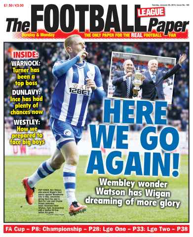 The Football League Paper issue 26th January 2014