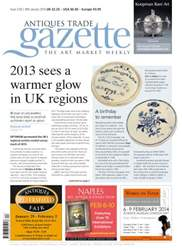 Antiques Trade Gazette issue ATG Issue 2124