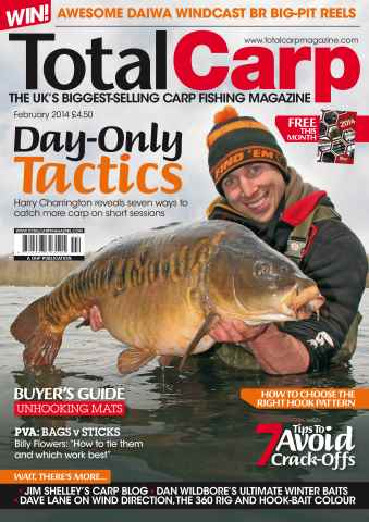 Total Carp issue February 2014