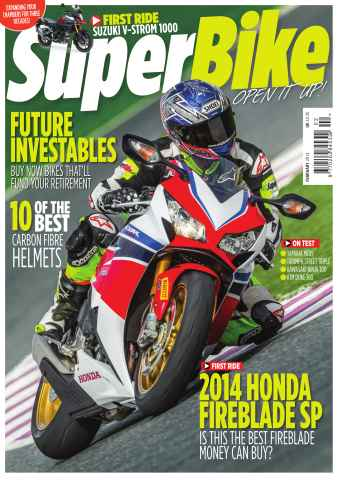 Superbike Magazine issue February 2014