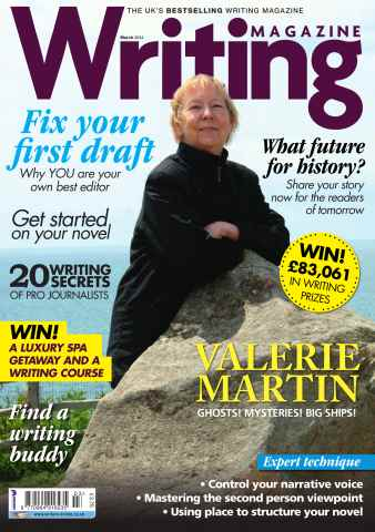 Writing Magazine issue March 2014