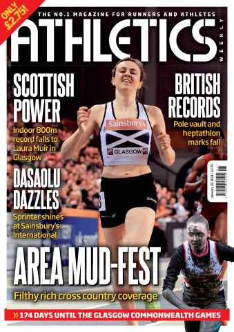 Athletics Weekly issue 30/01/2014