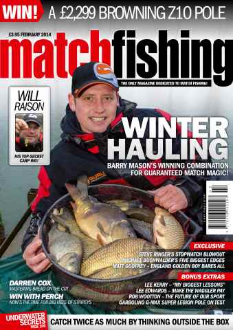 Match Fishing issue 31/01/2014