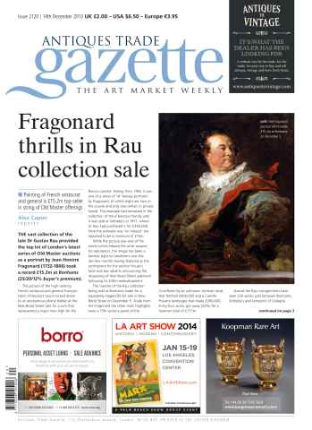 Antiques Trade Gazette issue ATG Issue 2120