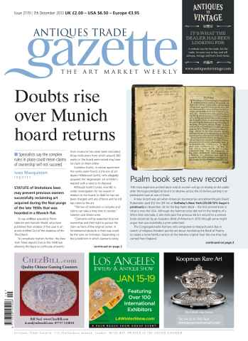 Antiques Trade Gazette issue ATG Issue 2119