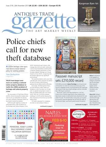 Antiques Trade Gazette issue ATG Issue 2118