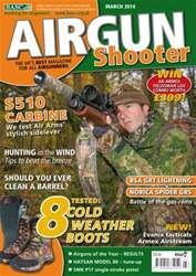 Airgun Shooter issue March 2014