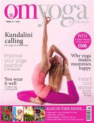 OM Yoga UK Magazine issue March 2014 - Issue 39