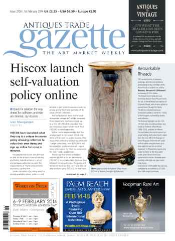 Antiques Trade Gazette issue ATG Issue 2126