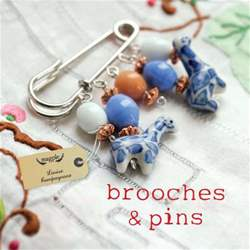Making Jewellery issue Brooches & Pins