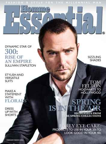Essential Homme issue February-March 2014