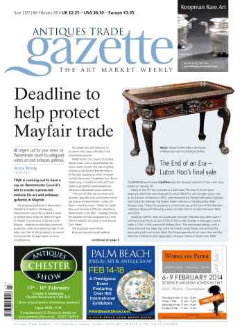 Antiques Trade Gazette issue ATG Issue 2127