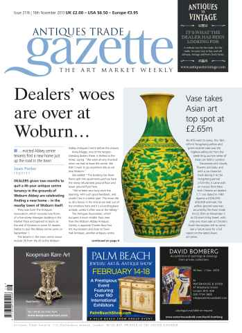 Antiques Trade Gazette issue ATG Issue 2116