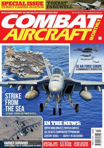 Combat Aircraft issue March 2014