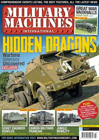 Military Machines International issue March 2014