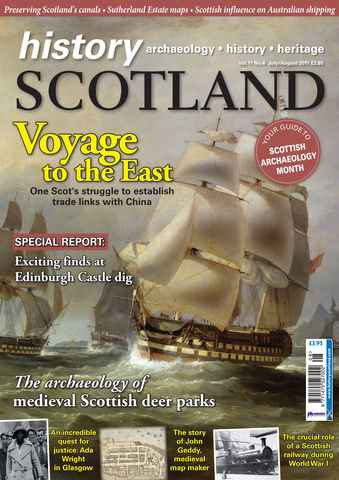 History Scotland issue July-Aug 2011