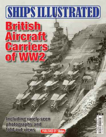 Ships Monthly issue Ships Illustrated: British Aircraft Carriers of WW2