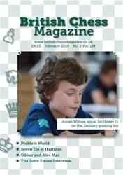 British Chess Magazine issue February 2014
