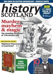 History Scotland issue March/April