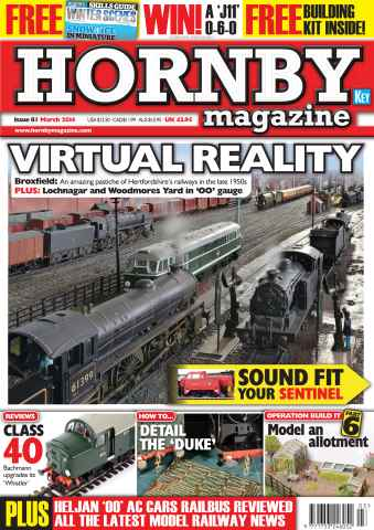 Hornby Magazine issue March 2014