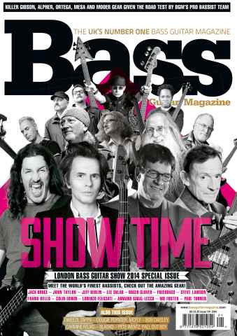 Bass Guitar issue 101 Show Issue 2014