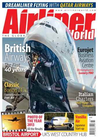 Airliner World issue March 2014