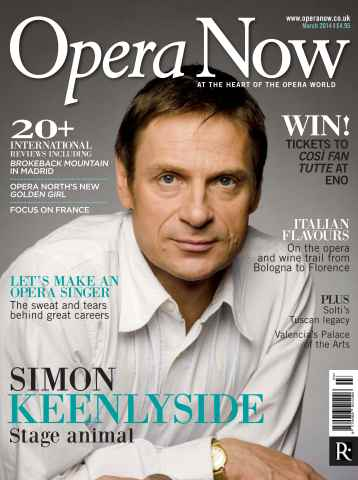 Opera Now issue March 2014