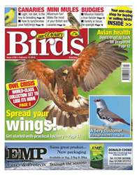 Cage & Aviary Birds issue No.5790 Spread Your Wings