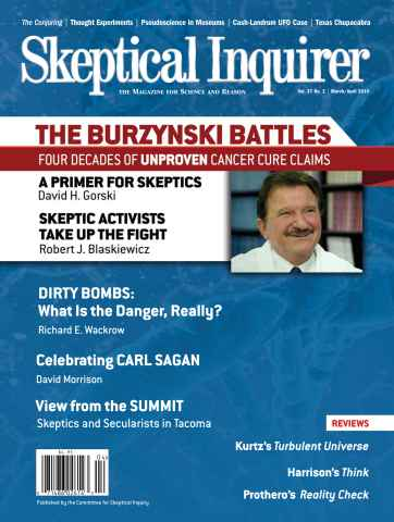 Skeptical Inquirer issue March/April 2014