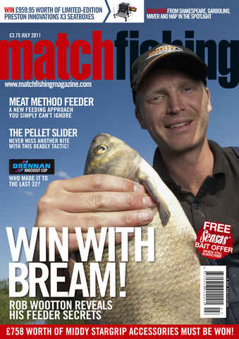 Match Fishing issue July - 2011