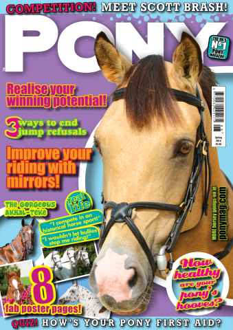 Pony Magazine issue PONY Magazine – Spring 2014