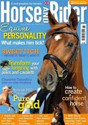 Horse&Rider Magazine - UK equestrian magazine for Horse and Rider issue Horse&Rider Magazine – Spring 2014