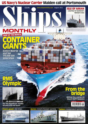 Ships Monthly issue August 2011