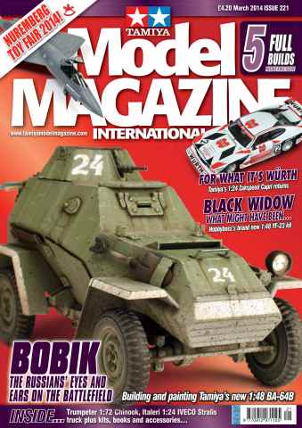 Tamiya Model Magazine issue 221