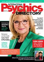 International Psychics Directory 2014 issue International Psychics Directory 2014
