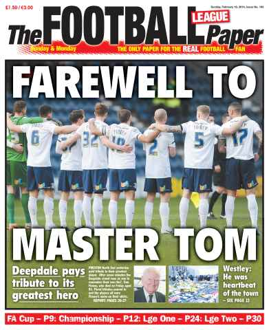 The Football League Paper issue 16th February 2014