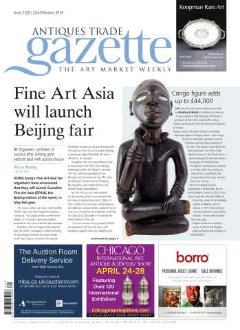 Antiques Trade Gazette issue ATG Issue 2129