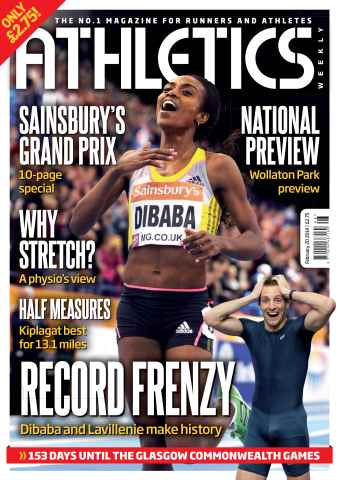 Athletics Weekly issue 20/02/2014