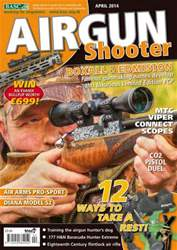 Airgun Shooter issue April 2014