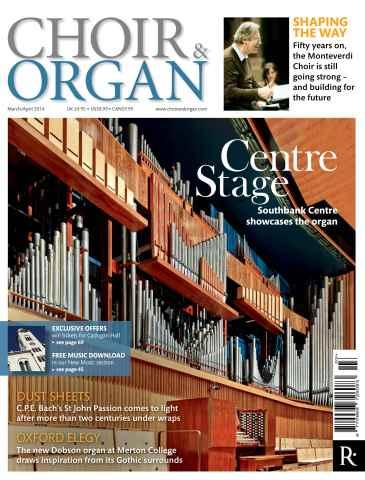 Choir & Organ issue March - April 2014