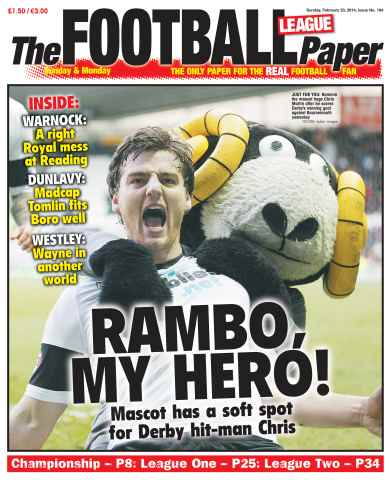 The Football League Paper issue 23rd February